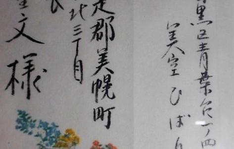 筆跡診断  歌姫ひばりのド根性