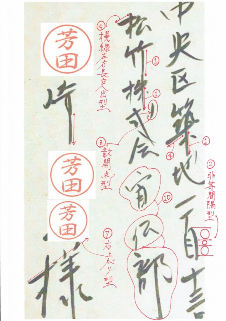 萩原健一年賀状 表面